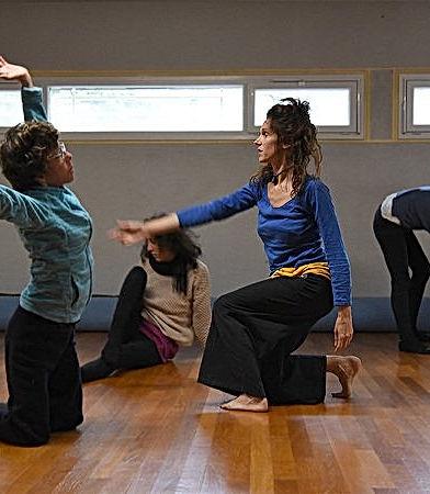 Danse Libre cours avec Mylène Martin
