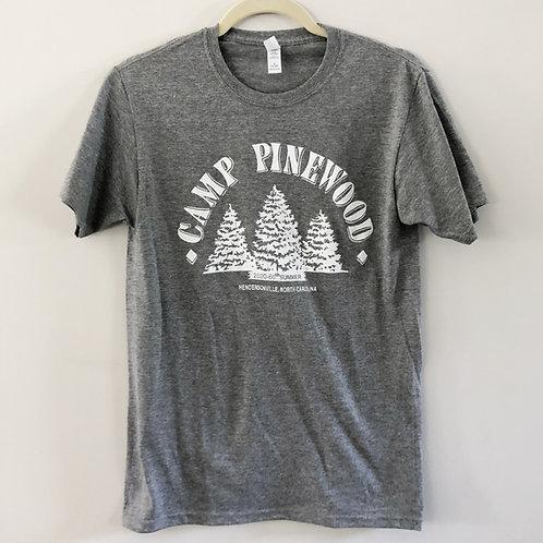 Cotton Blend T-Shirt, Grey