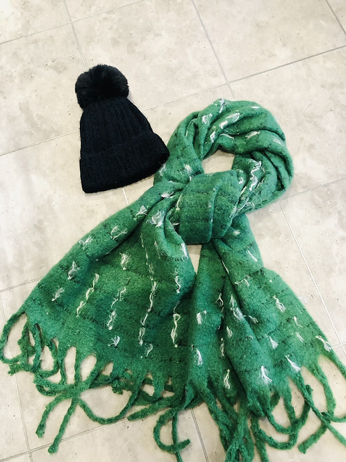 Go Green scarf