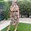Thumbnail: Saffron animal print dress