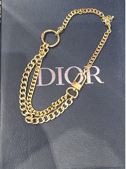 Designer inspired chunky chain