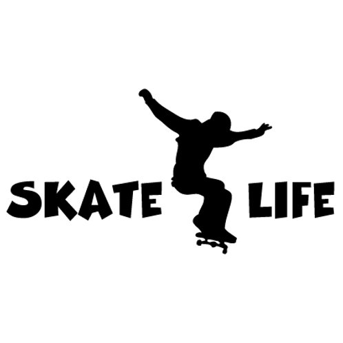 Skate Life -  Kick  | Decal