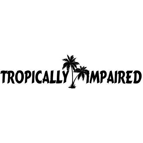Tropically Impaired | Decal