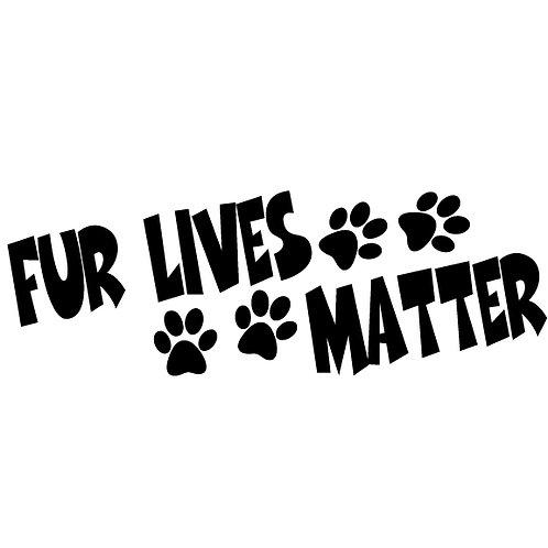 Fur Lives Matter | Decal