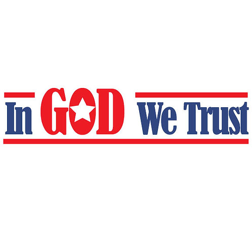 In God We Trust | Decal