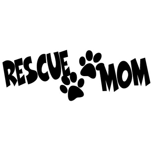 Rescue Mom | Decal