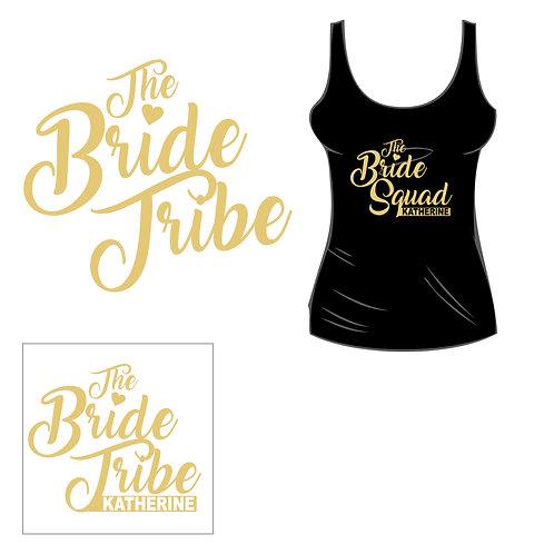 Bride Tribe Tank - Customized