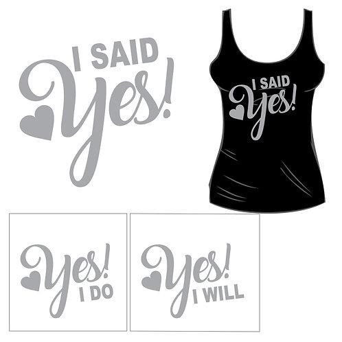 I Said Yes Tank