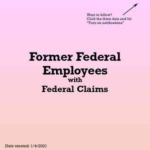 Former Federal Employees