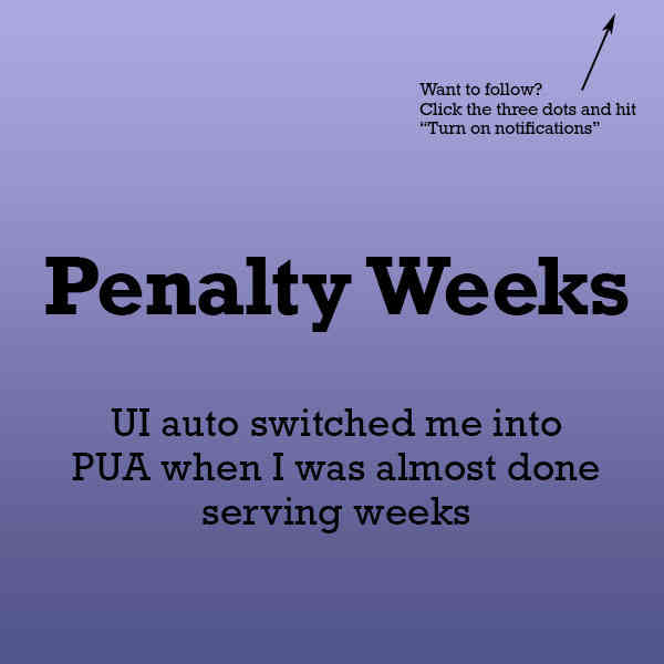 Penalty Weeks