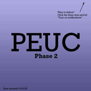 PEUC Phase 2