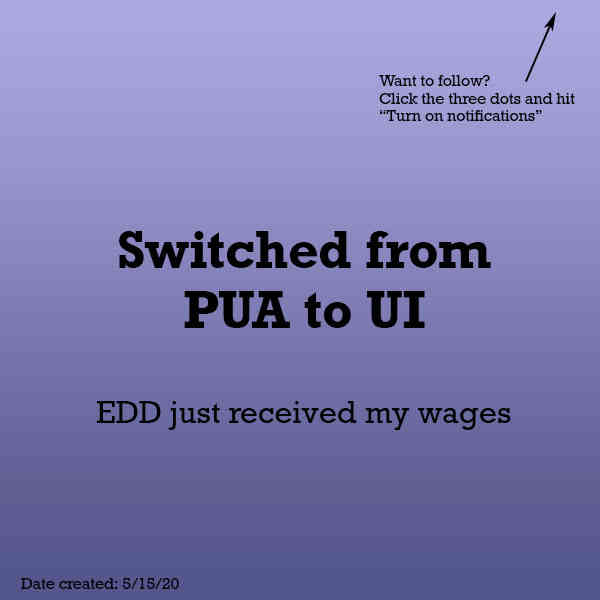 Switched from PUA to UI