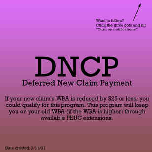 Deferred New Claim Payment