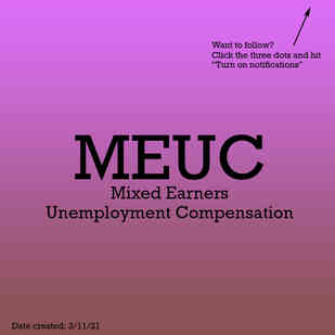 Mixed Earners Unemployment Compensation