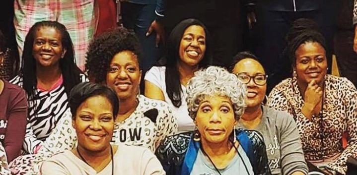 Yep, Grandma BB front and center