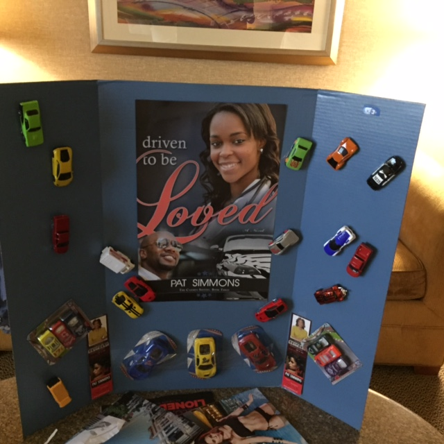 My car display give-away