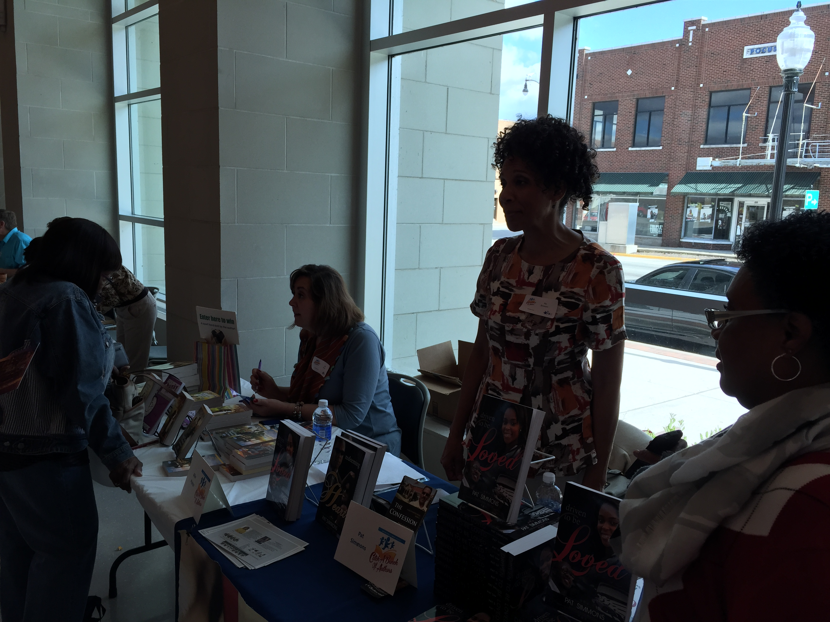 Sharing the author table