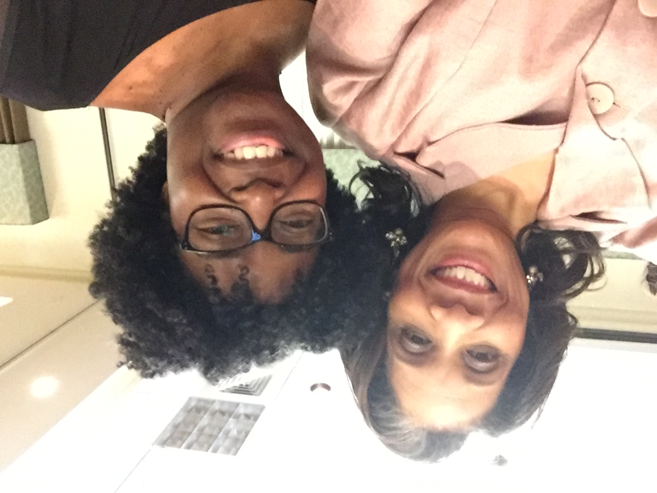 Tyora Moody and me