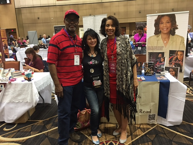 Kerry, Deborah and me