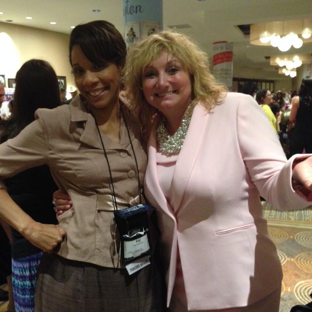 Me and  author Tina deSalvo