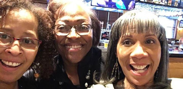 My girls--Cookie Garmany Berryman and Ka