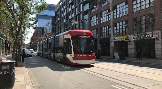 The famous street carin Toronto