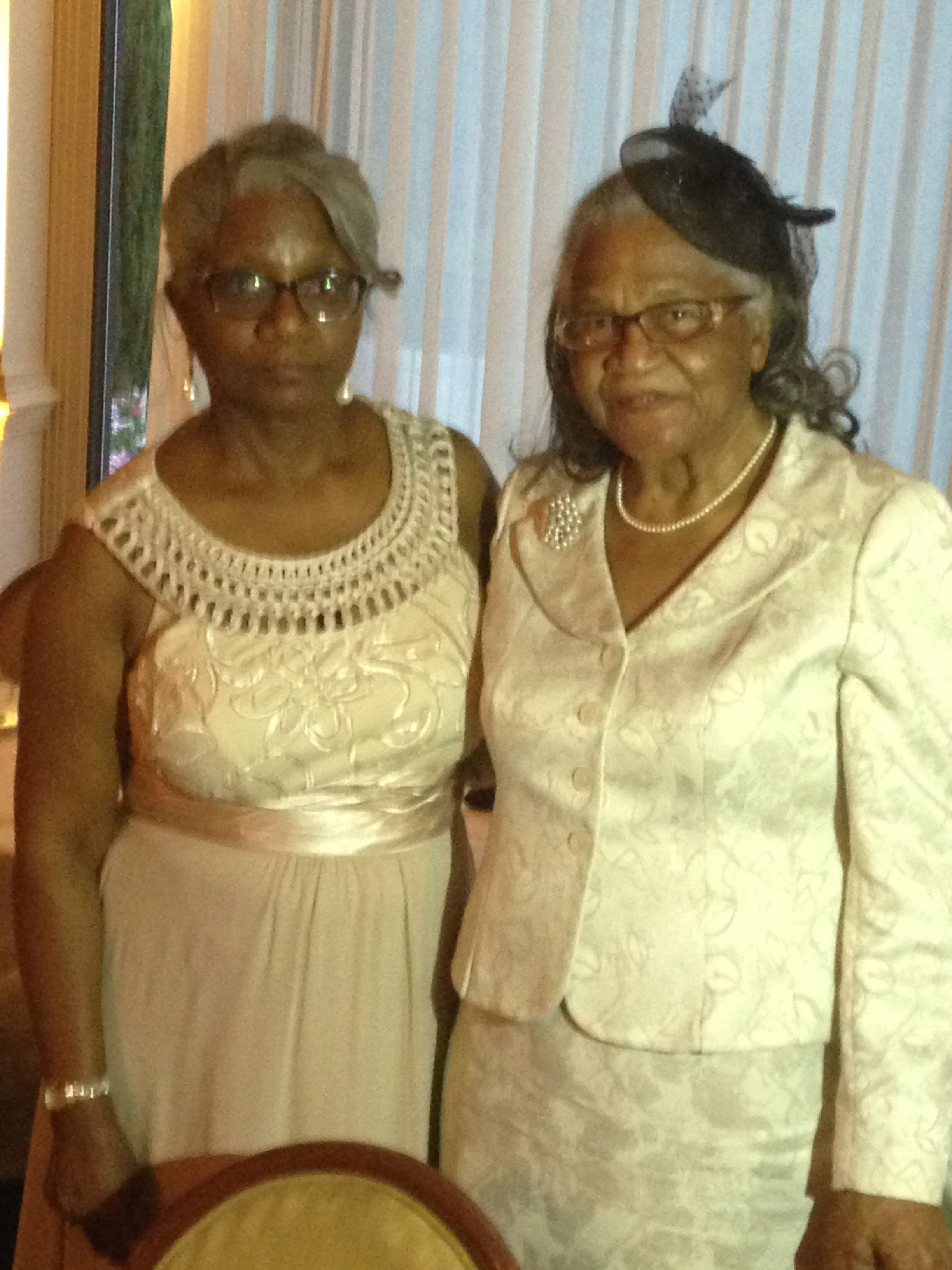 Mother and grandmother of the groom