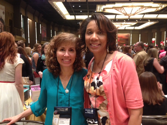 Me and author Lisa Wingate