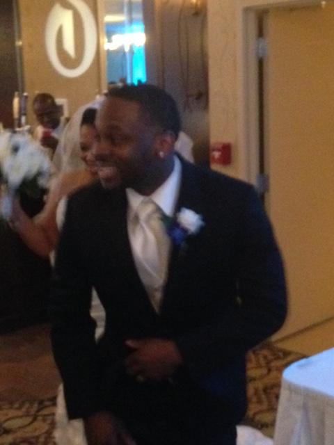 One happy groom