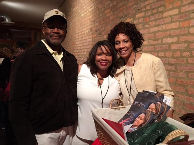Author Tanisha with Kerry & me