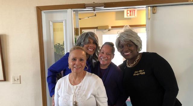 Love my church folks Sheila Cynthia and