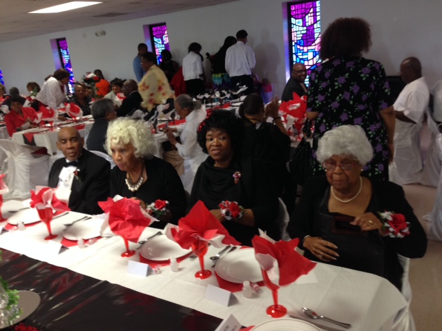 Guests of Honor table