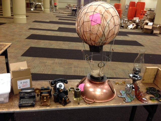 Steampunk decorations