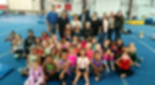 top notch gymnastics, family, gymnastics, team