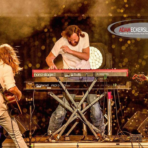 2015 Sydney Country Music Festival with Adam Eckersley Band