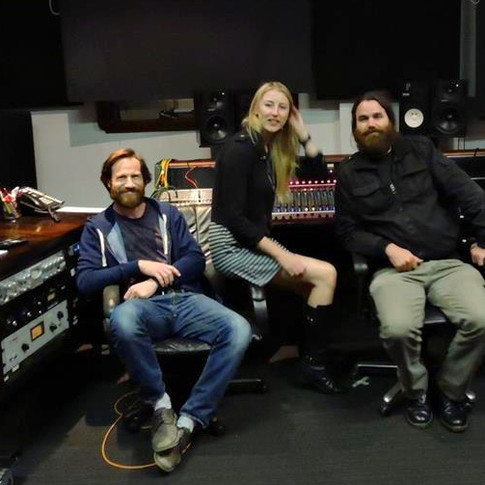2015 producing Kim Girdlestone with Green Beads Production at Studios 301