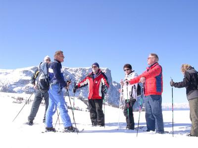 Schneeschuhwanderung Pustertal