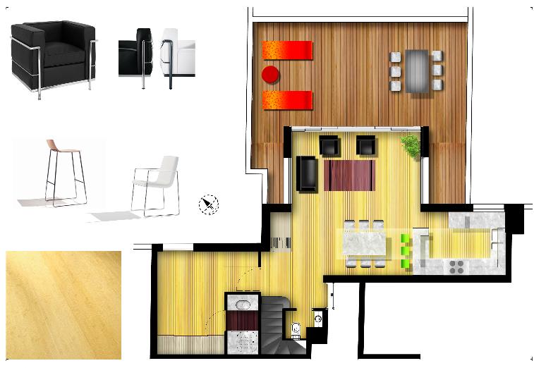 Duplex en Terrasses