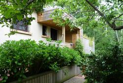 Une terrasse sur le bois