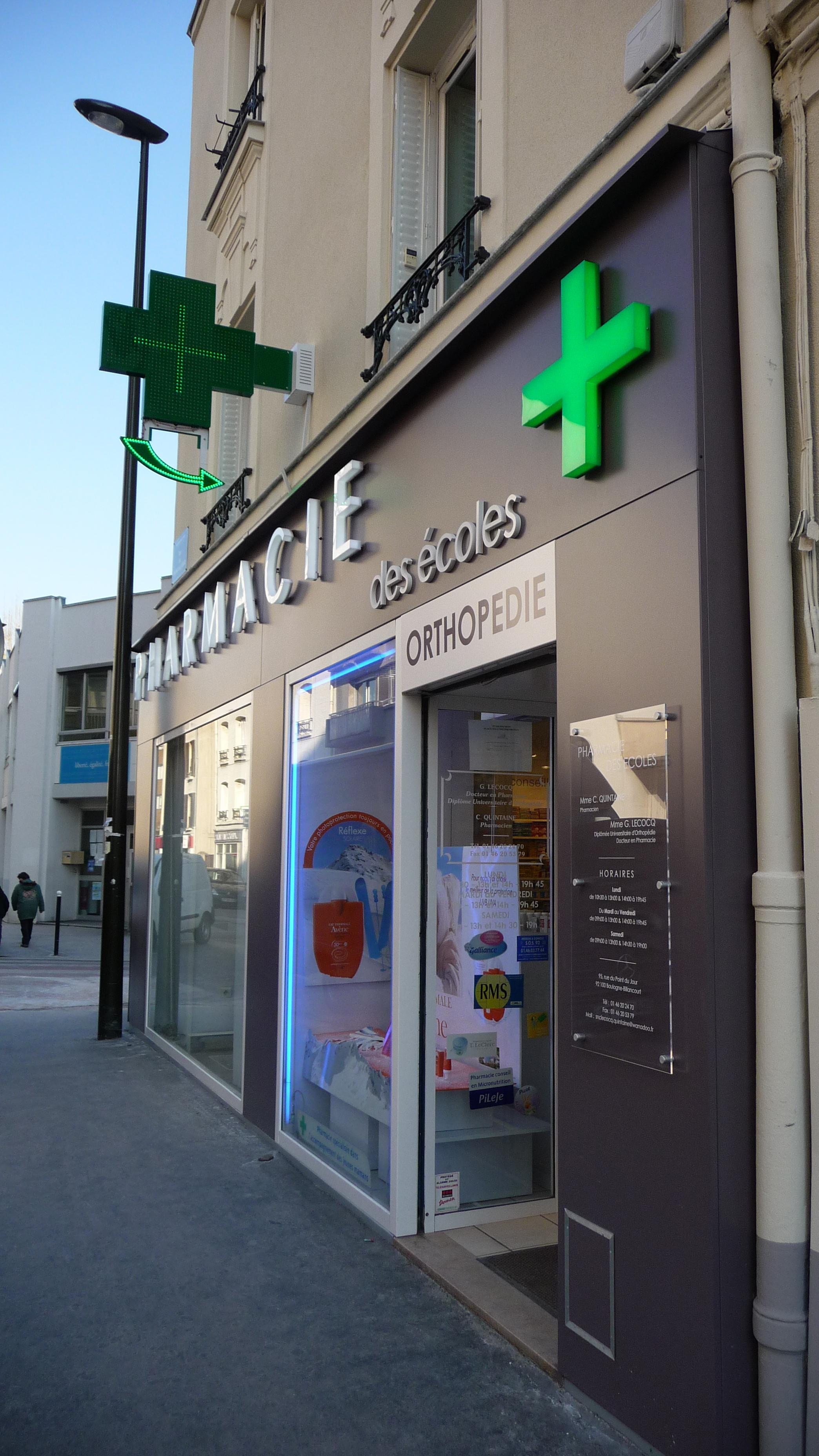 Pharmacie Boulogne