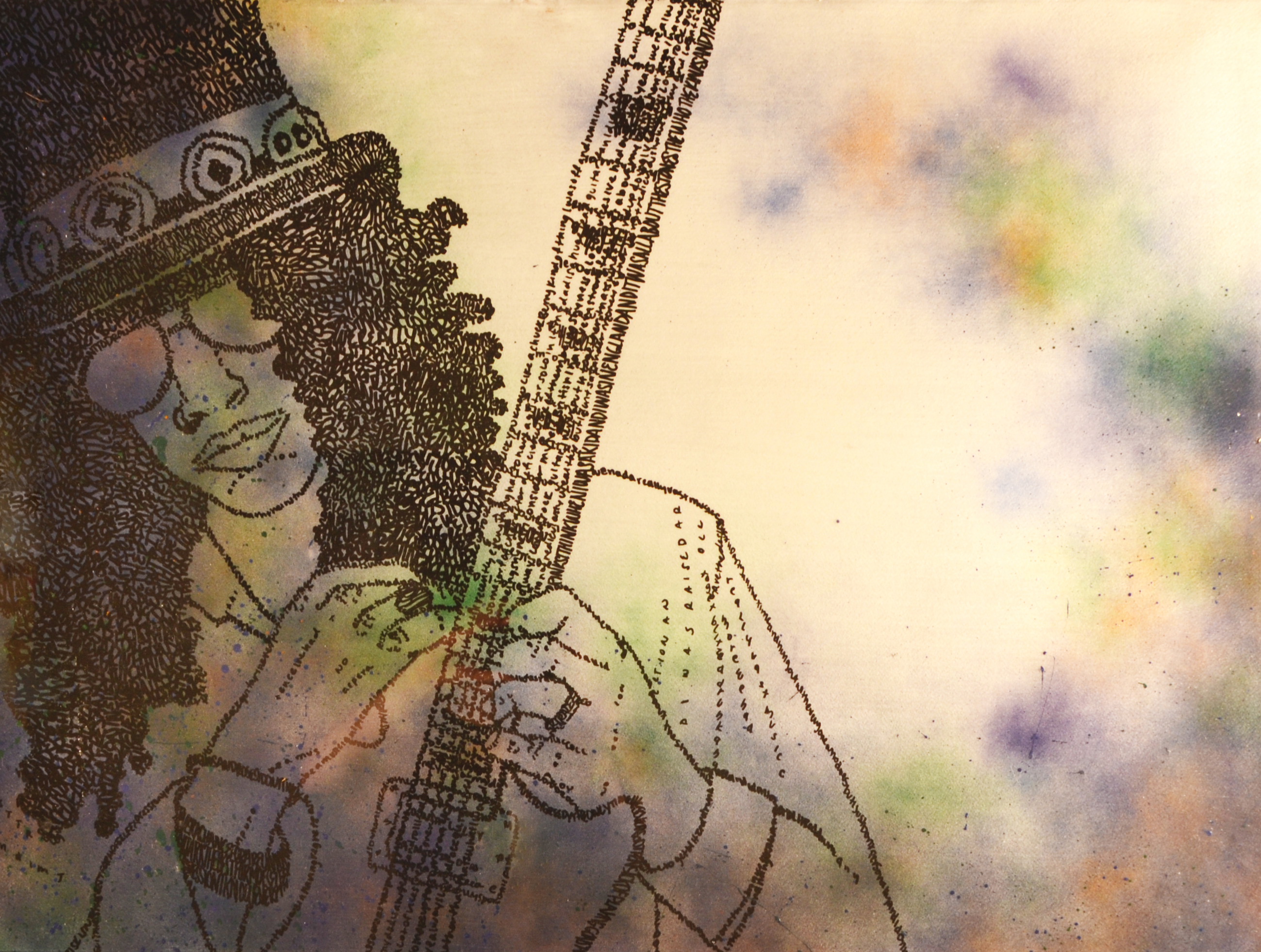 Lee Slash on paper 22x30