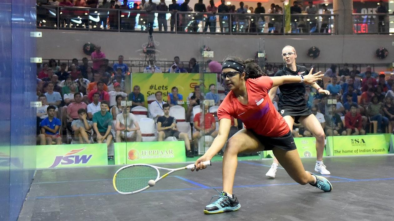 d53490 44cb059982b4480084290d41a48ef728~mv2 - Sneha Sivakumar shocks the squash world in Chennai, India