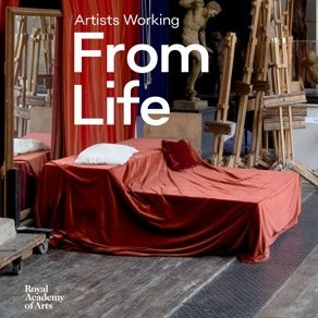 'Artists Working From Life'.  The book accompanying the RA's 2018 exhibition of the same name, which I feel very lucky to have featured in on two pages.  Notable artists including David Hockney write about what the practice of drawing from life means to them within the book.