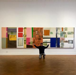 Robert Rauschenberg exhibition, Gallerie Thaddaeus Ropac, Mayfair, February 2019.