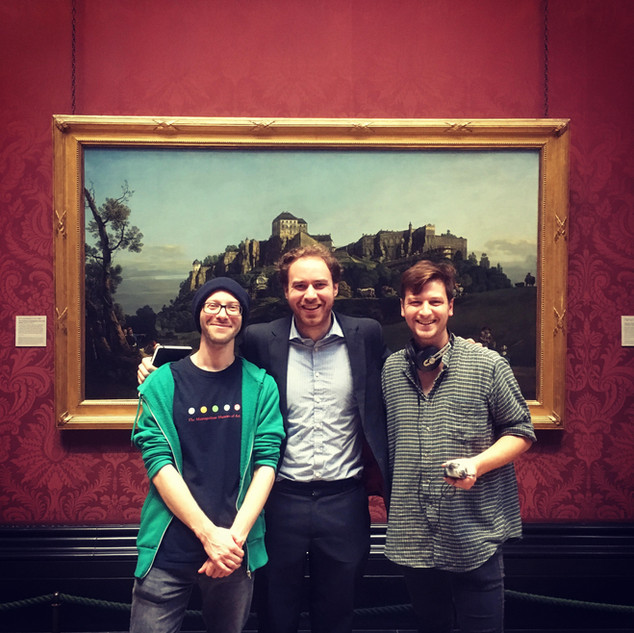 BBC Radio 4 | Interview at The National Gallery with Alistair Riddell and Ned Sedgwick | September 2019