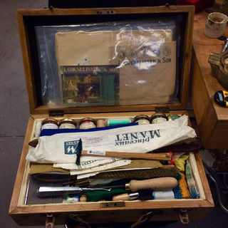 Martin's toolbox, Government Art Collection, 2018