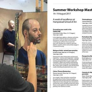 Hampstead School of Art Course Guide.