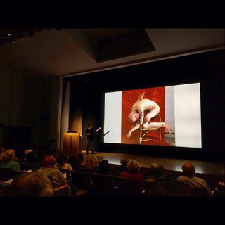 'Are Life Models Artists' | Image from my inaugural lecture at The National Gallery, September 2019