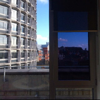 View from the staff room, sixth floor, City Lit, 2018