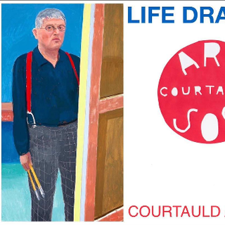 Flyer flor the Courtauld Art Society.  I worked with art historian Hannah Boulting to create a successful Life Drawing group at the Courtauld Institute.